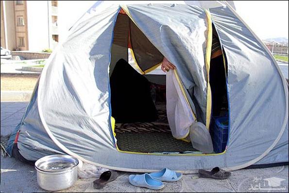 کشف جسد زن و مرد جوان در چادر مسافرتی  3 روز بعد پیدا شدند