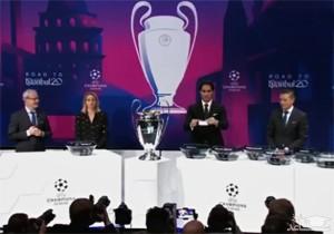 فیلم مراسم قرعه کشی لیگ قهرمانان اروپا