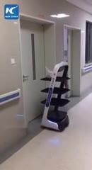 (فیلم) نحوه سرو غذا و دارو در بیمارستان چینی