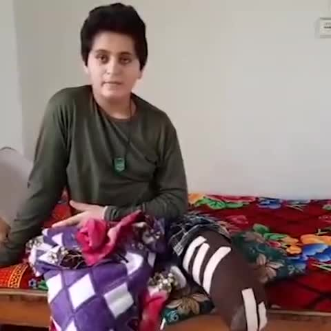 (فیلم) پسر فداکاری که هنگام ضدعفونی معابر پایش را از دست داد