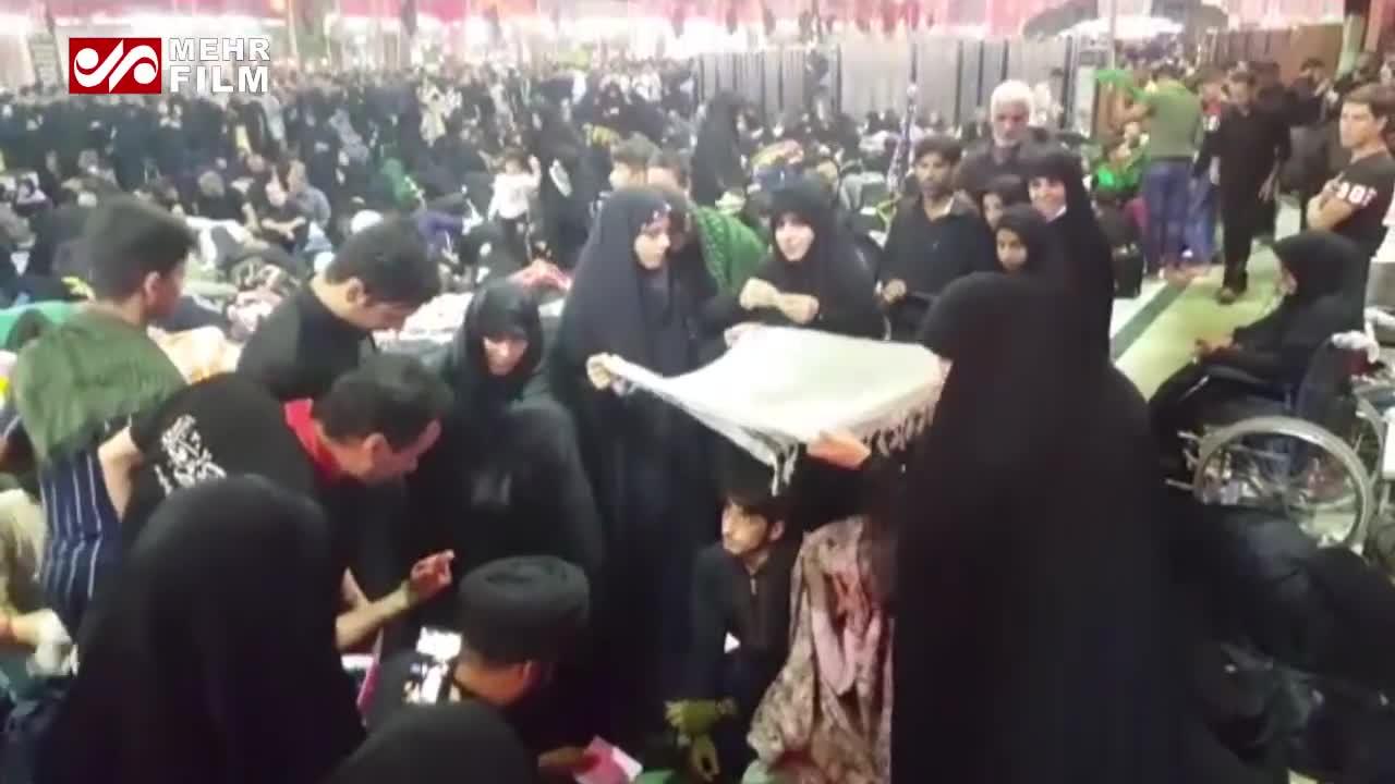 (فیلم) خطبه عقد زوج تهرانی در بین الحرمین