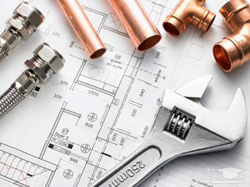 سوالات و پاسخنامه آزمون نظام مهندسی، ورود به حرفه مهندسان پایه 3 در رشته تاسیسات مکانیکی (96-83)
