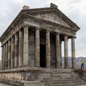معبدی در ارمنستان که به دستور پادشاه اشکانی ساخته شد