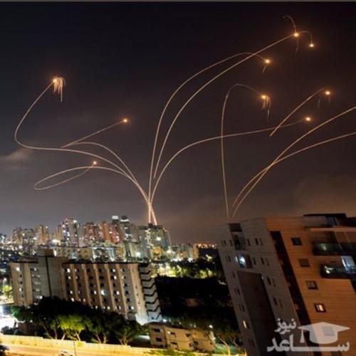 اعتراف ارتش اسرائیل به شلیک ۹۰ موشک از غزه به سوی سرزمین های اشغالی