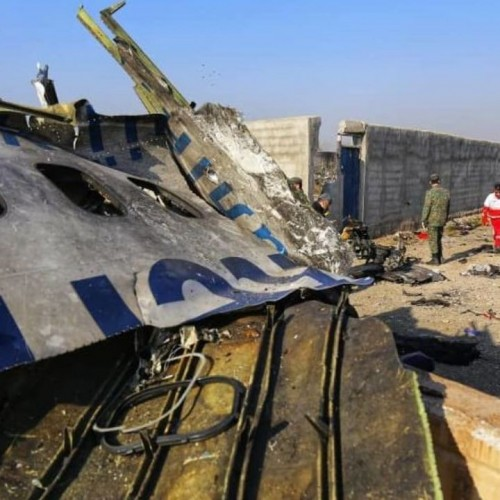 ایران گزارش علت سقوط هواپیمای اوکراینی را هفته آینده منتشر میکند