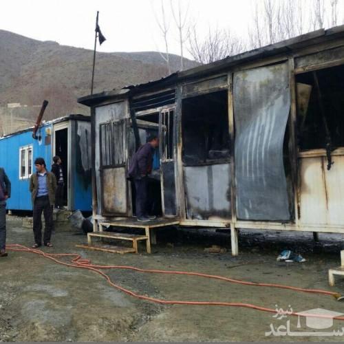 آخرین جزئیات آتشسوزی خوابگاه کانکسی معلمان کنگرستانی خوزستان