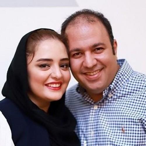 عکس عاشقانه نرگس محمدی و علی اوجی در سالگرد ازدواجشان