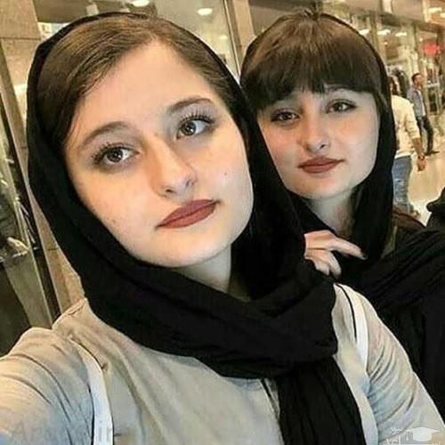 عکس لو رفته از سارا و نیکا در حال خرید برای ولنتاین