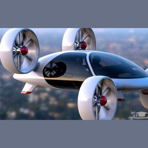 عکسی عجیب از ماشین پرنده و تاکسی پهپادی!