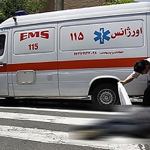 آمبولانس مرد 70 ساله را له کرد / در اصفهان رخ داد