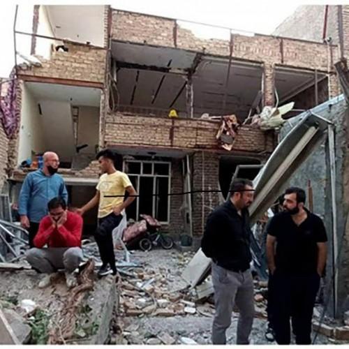 انفجار مهیب در تبریز / ویرانی 11 ساختمان