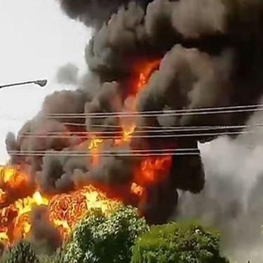 انفجار منزل مسکونی در شهرک ولیعصر تهران