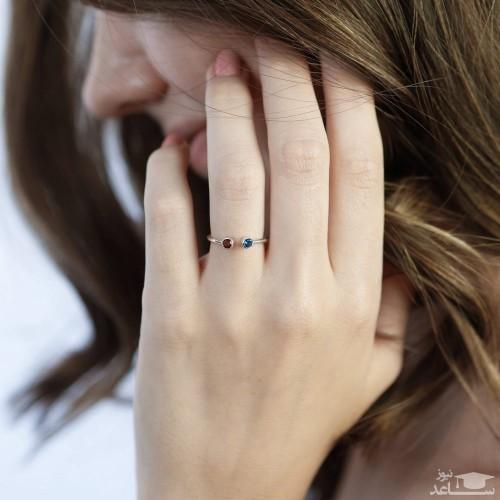 انگشتری عجیب با بیشترین تعداد الماس که رکورد گینس را زد!