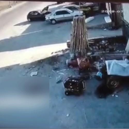 (فیلم) انحراف مرگبار پژو در جاده ماکو به بازرگان