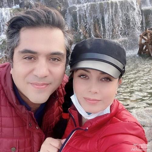 اولین ویدیو از صبا راد و همسرش بعد از ابتلا به کرونا در بیمارستان
