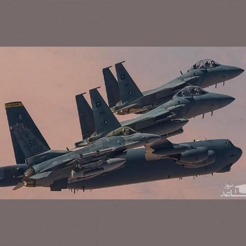 عربستان و آمریکا تمرین هوایی مشترک برگزار کردند
