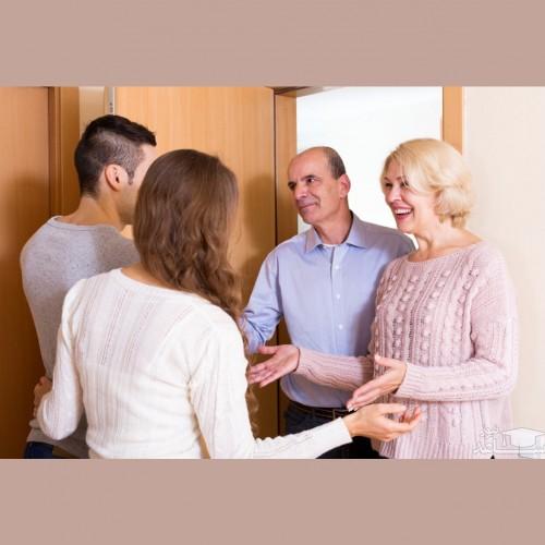 ارتباط با خانواده همسر