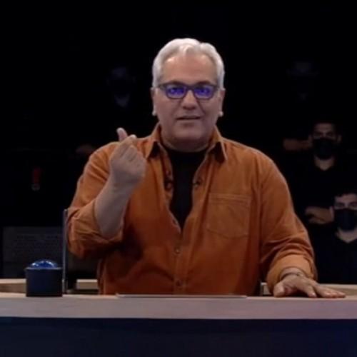 (فیلم) پارتیبازی جالب مهران مدیری برای دوست پسرش در مسابقه!