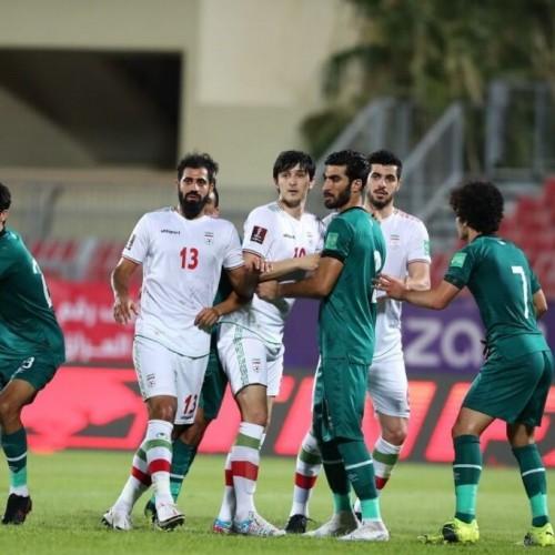 باخت عراق به ایران، گردن پیراهنهای نایلونی افتاد!