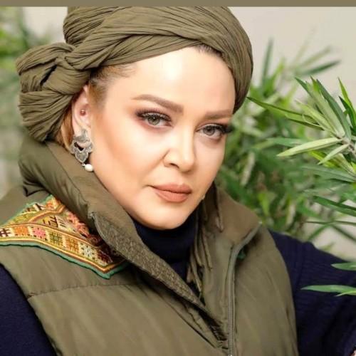 بهاره رهنما و همسرش با ژست تازه عروس و دامادها