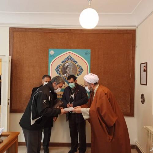 برگزاری کارگاه کتابت خوشنویسی به مناسبت یکصدمین سالگرد شهادت شیخ شهید محمد خیابانی