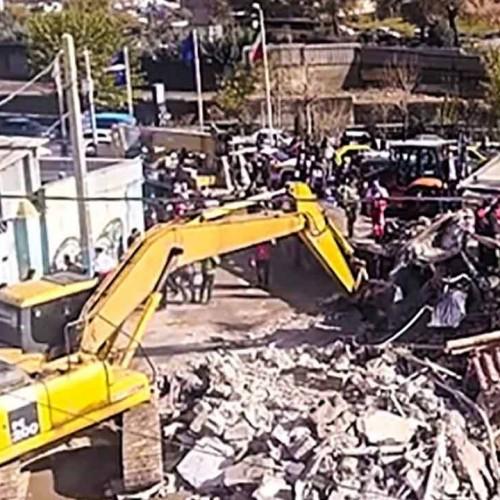 (فیلم) برخورد مرگبار یک کامیون به منزل مسکونی در پردیس