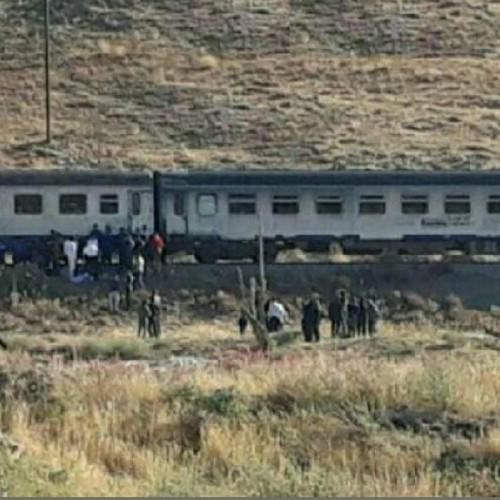 برخورد مرگبار زن ۲۸ساله با قطار