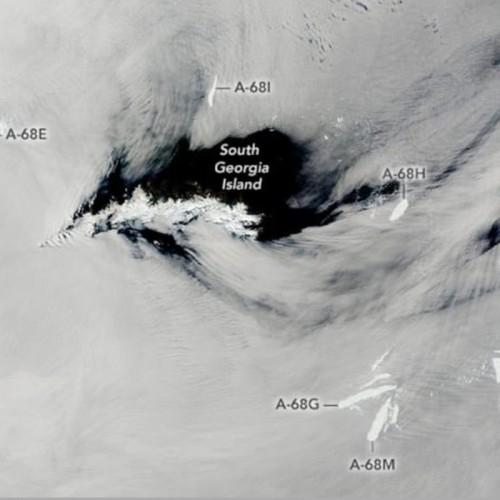 بزرگترین کوه یخی جهان متلاشی شد