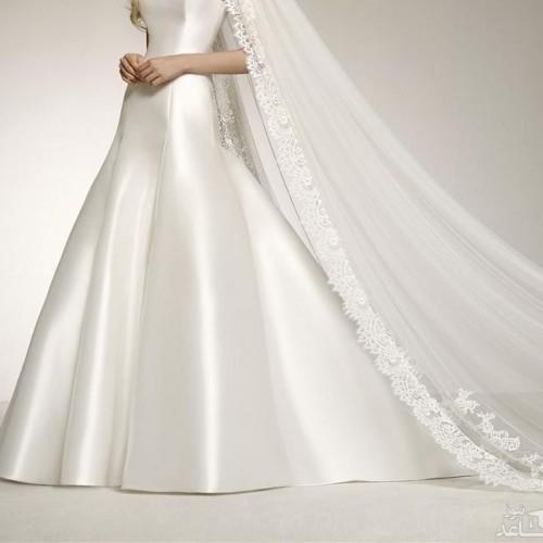 چه مدل هایی برای لباس عروس محجبه و شیک وجود دارد