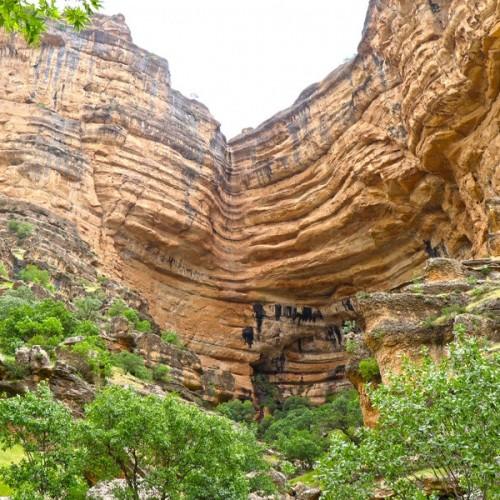 فیلمی باورنکردنی از طبیعت لرستان، دره شیرز