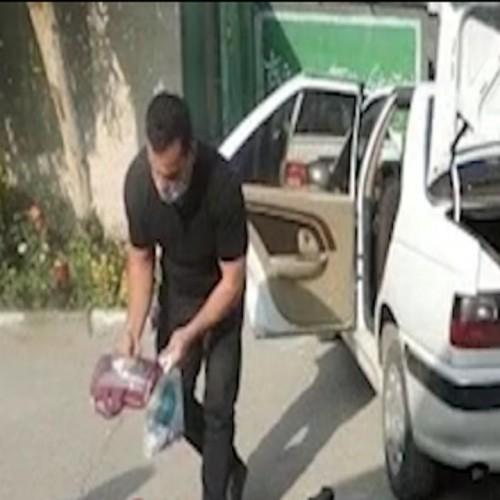 (فیلم) دستگیری سارق خیرنما در ورامین!