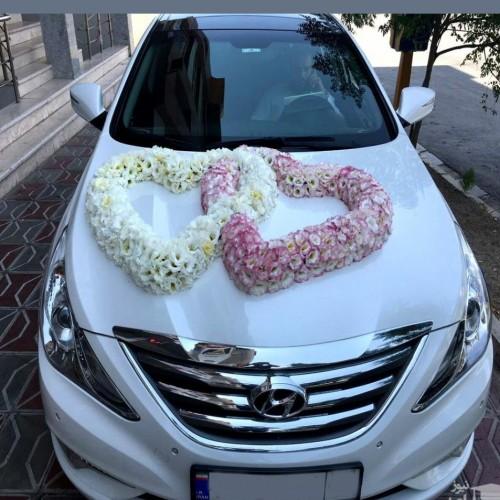 (عکس) عجیب ترین ماشین عروس زوج ایرانی