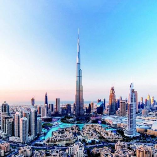 (عکس) اثر انگشت حاکم دبی برج میشود!