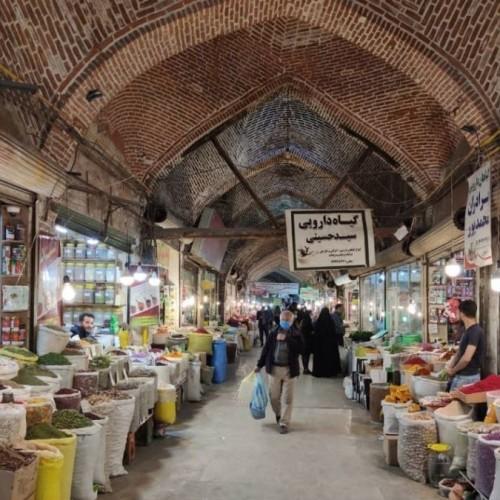 (عکس) بازار ارومیه خلوت و بی رونق