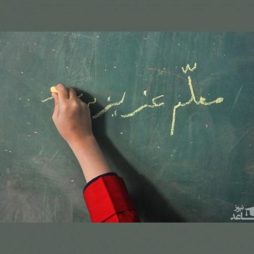 (عکس) جهانی شدن کار قشنگ معلم اردبیلی