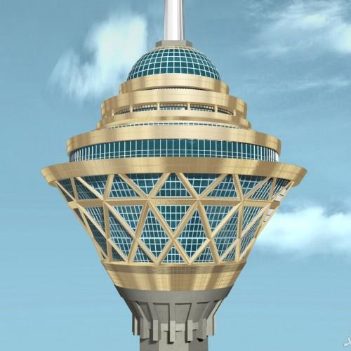 (عکس) نمایی رویایی از برج میلاد و آسمان تمیز تهران