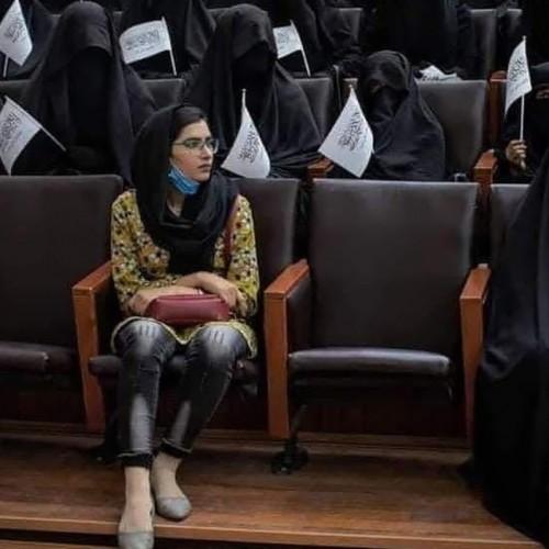 (عکس) تغییر نام وزارت امور زنان افغانستان توسط طالبان