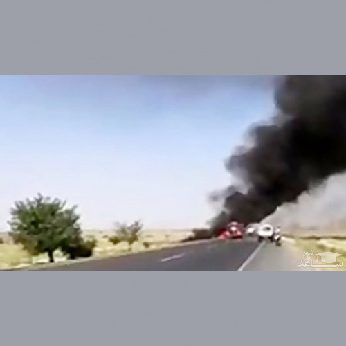 (فیلم) انفجار مهیب قطار حامل محصولات نفتی
