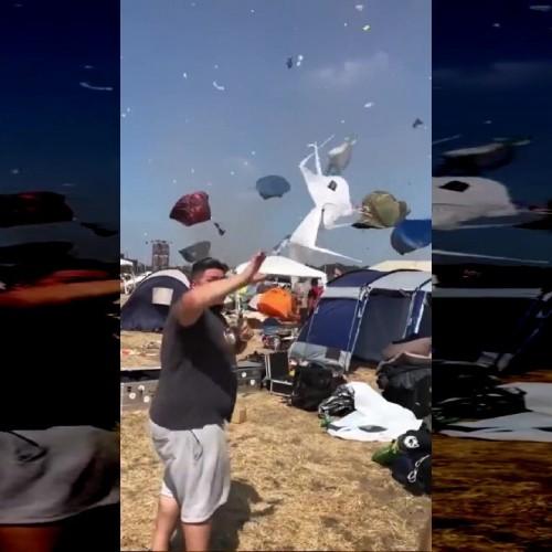 (فیلم) اتفاقی عجیب در کمپ گردشگران