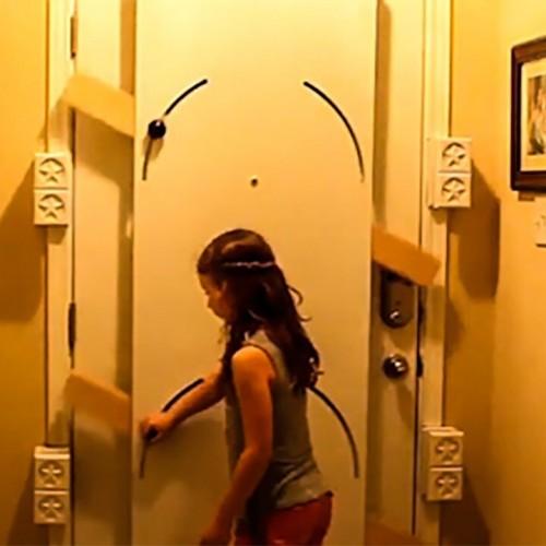 (فیلم) با این روش، دزدها را پشت در بگذارید!