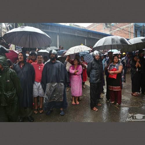 (فیلم) بارش باران مرگبار در هند