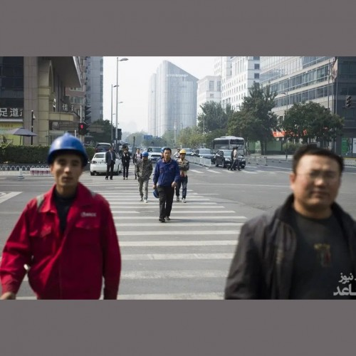 (فیلم) دعوای خندهدار دو مرد چینی در خیابان