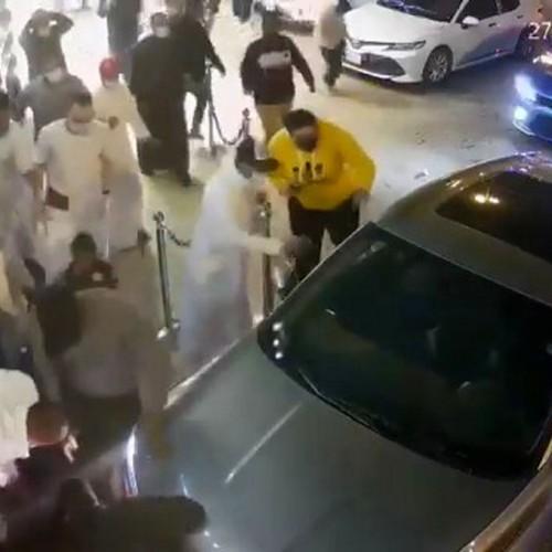 (فیلم) دستپاچه شدن زن عربستانی حادثه وحشتناک آفرید