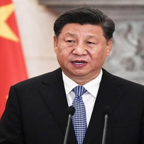 (فیلم) حضور رئیس جمهور چین بدون ماسک در بین مردم