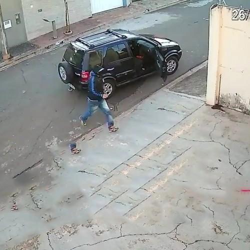 (فیلم) سرقت نافرجام از جواهرفروشی در برزیل