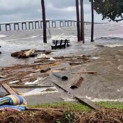 (فیلم) طوفان بی سابقهای که ایالتهای آمریکا را محو کرد