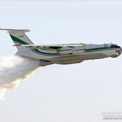 Iranian Armed Forces help Turkey to put out forest fires