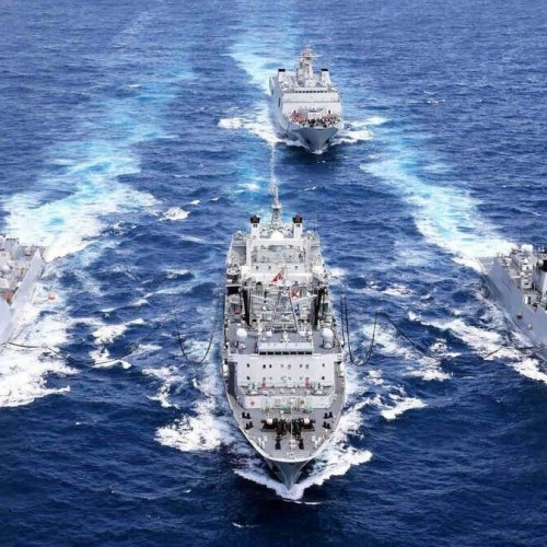 Iranian Navy vessels to attend Russia's Navy Day parades
