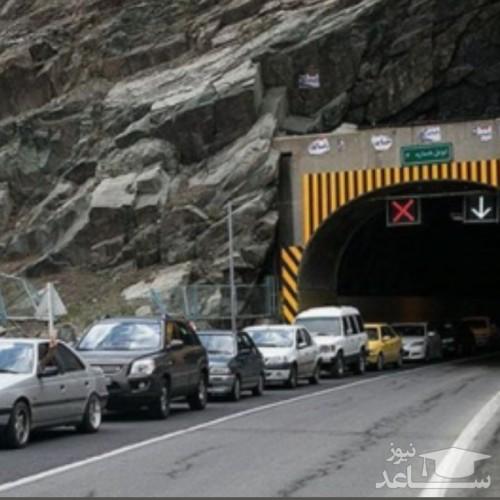 جادههای هراز و کندوان ترافیک سنگین دارد