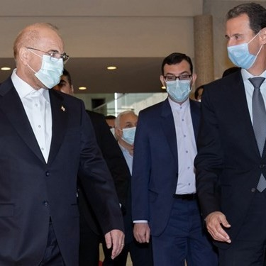 جزئیات دیدار رئیس مجلس با بشار اسد